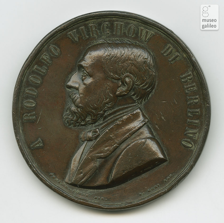 Rudolf Ludwig Karl Virchow - obverse