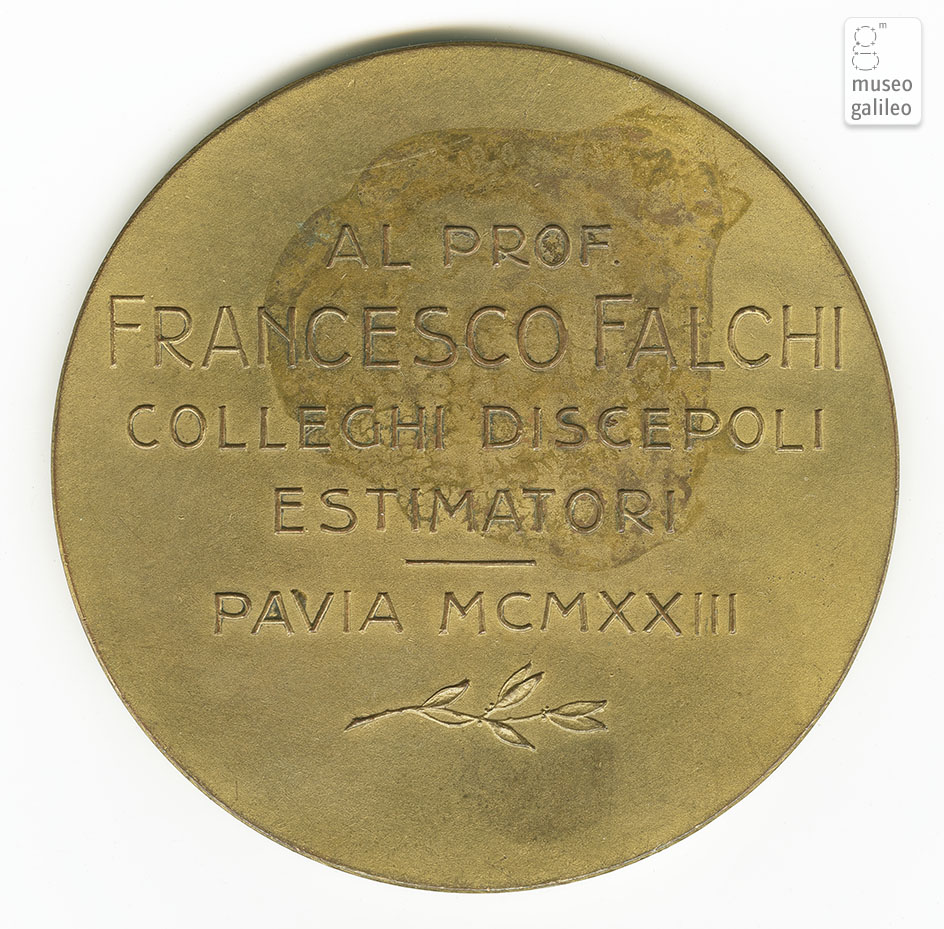 Francesco Falchi - reverse