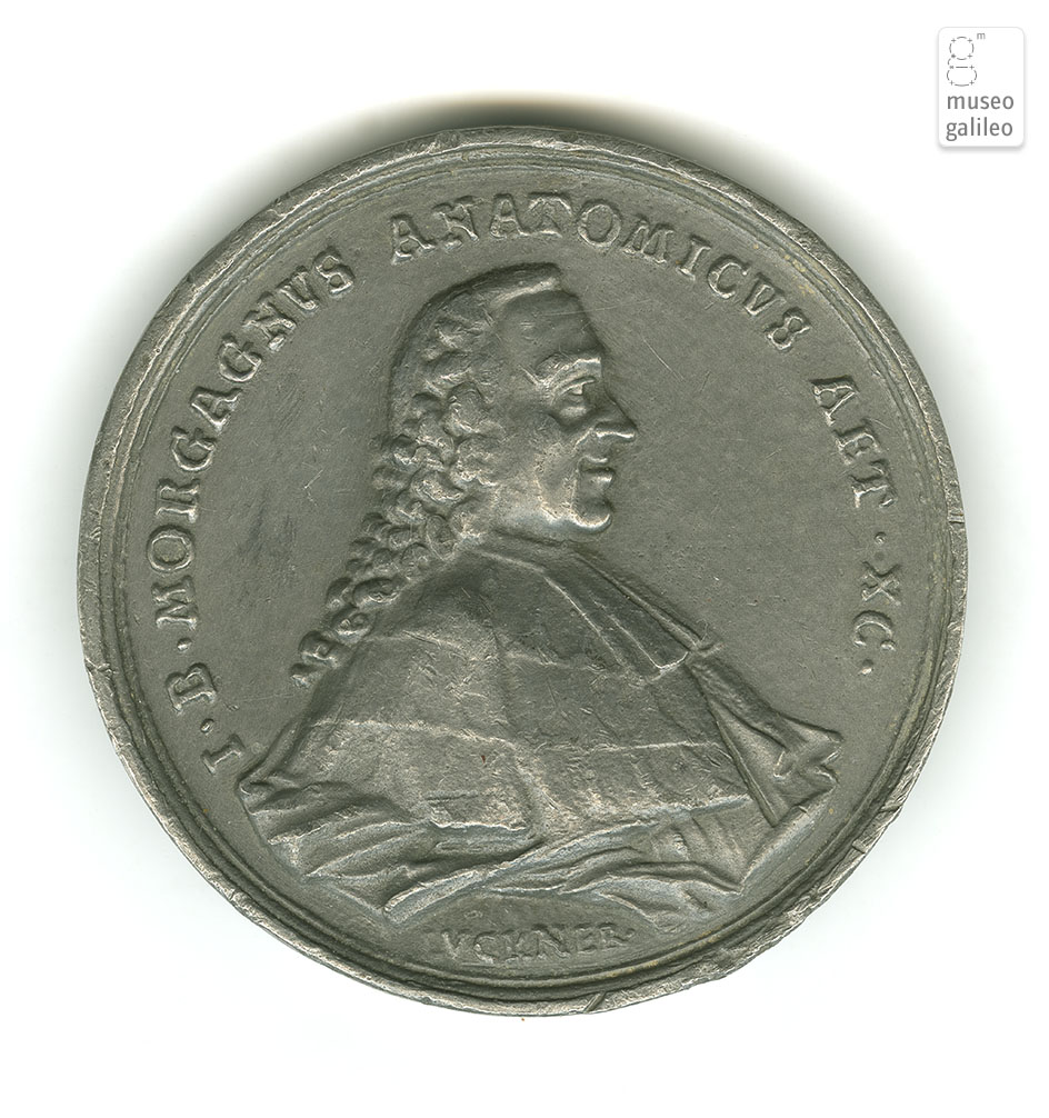 Giovanni Battista Morgagni - obverse