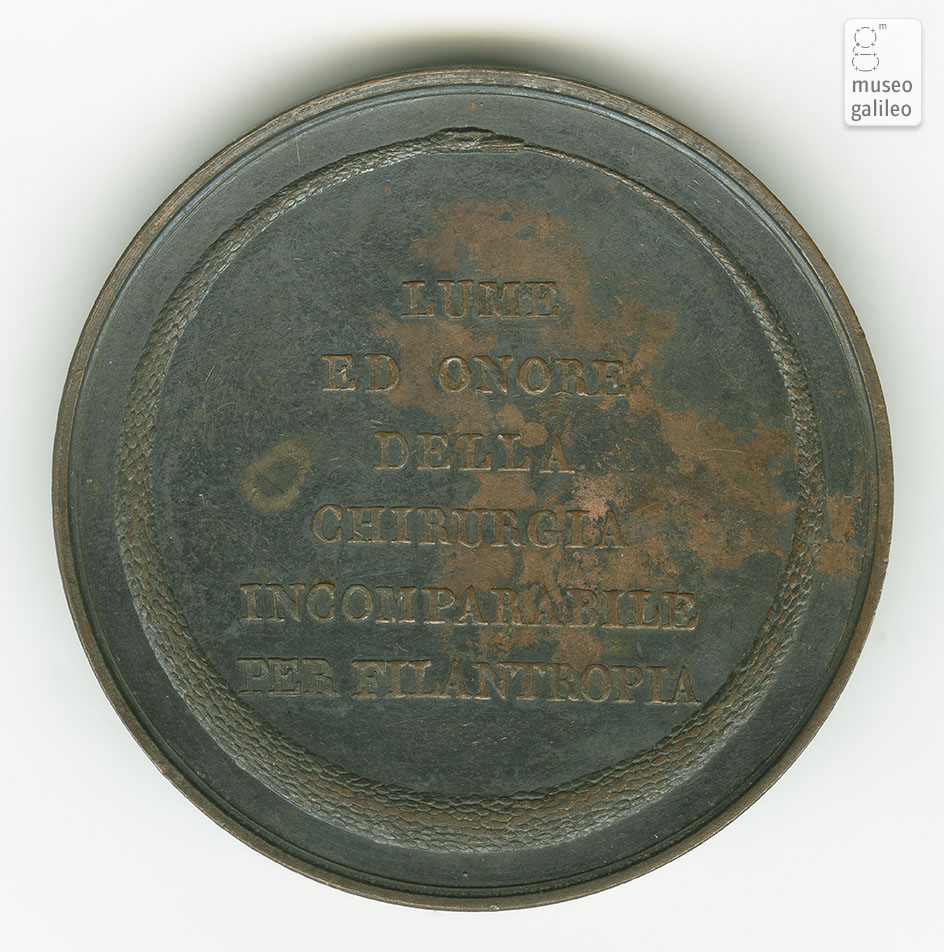 Giovanni Battista Palletta - reverse