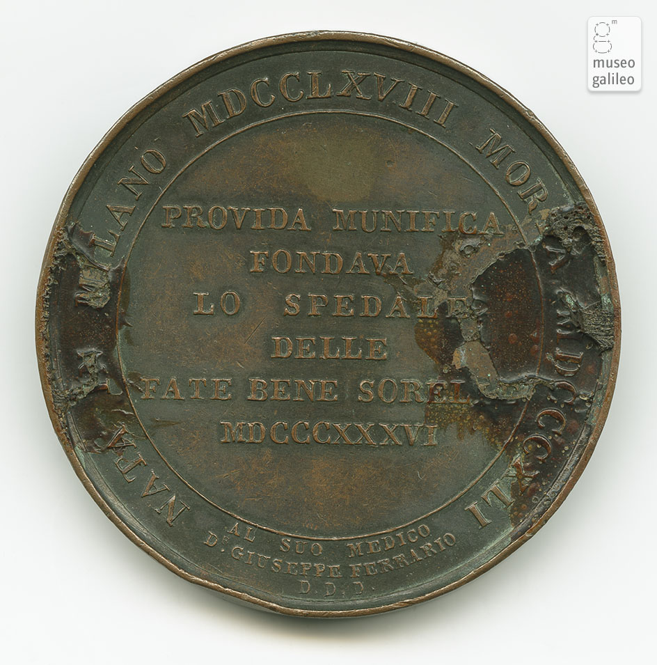Laura Visconti Ciceri - reverse