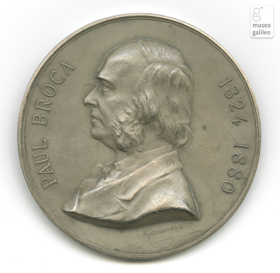 Paul Broca - obverse