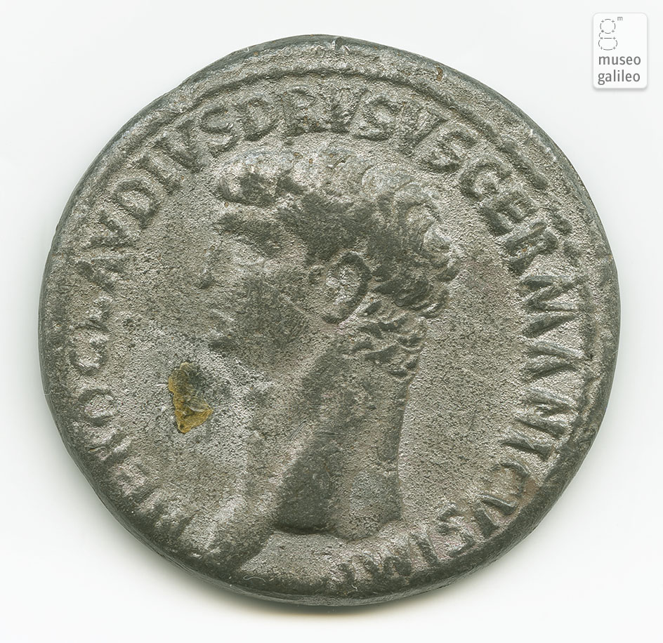 Nerone Claudio Druso Germanico - obverse