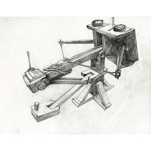 Archimedes Torsion Siege Engine