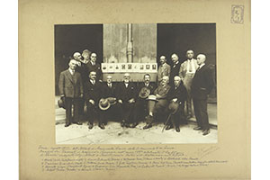 The Alumni of the Medical school meeting at the Institute of History of Science