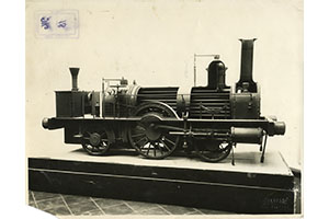 Model of a Locomotive enginereed at the Officina Meccanica di Porta Tosa of Milan in 1853