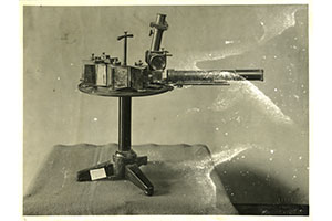 Spectroscope designed by Angelo Secchi