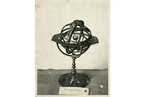 Armillary sphere designed by Giovan Francesco and Giovan Battista Divizioli