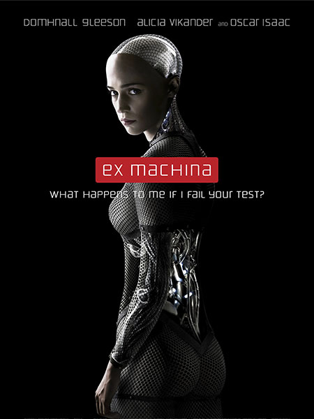 Movie poster of Ex Machina.