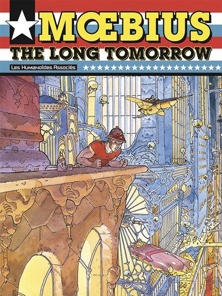 Cover of Moebius' The Long Tomorrow.