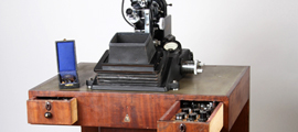 Optical and photographic microscope, model ZC