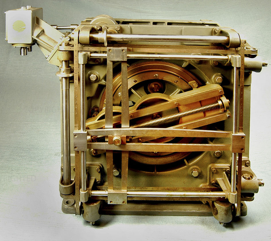 Naval mechanical coordinates transformer