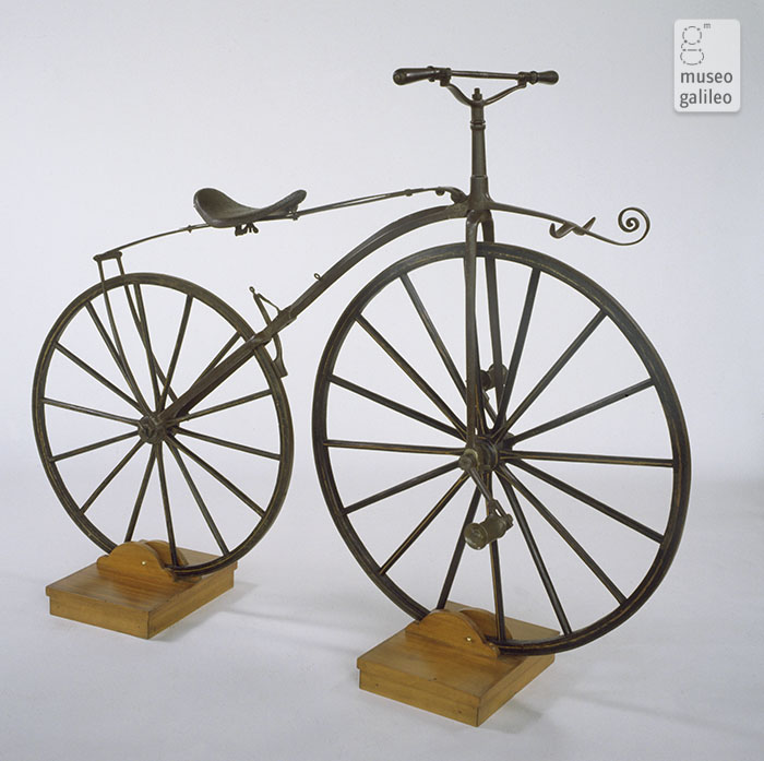 Michaux-type bicycle