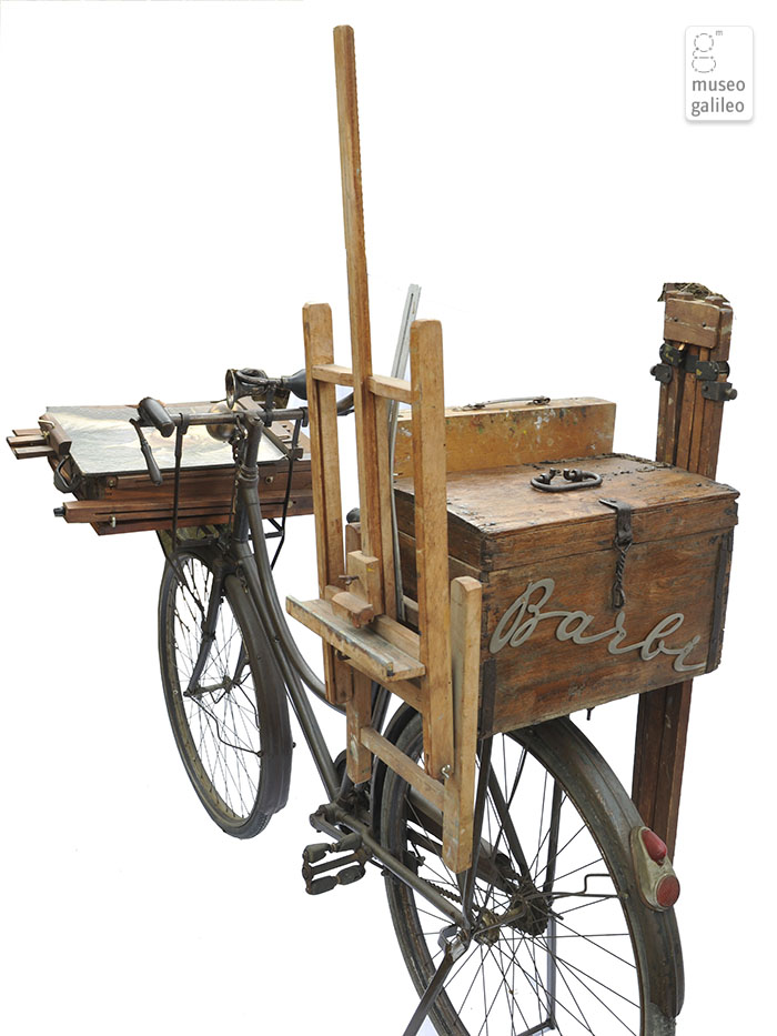 The painter's bicycle