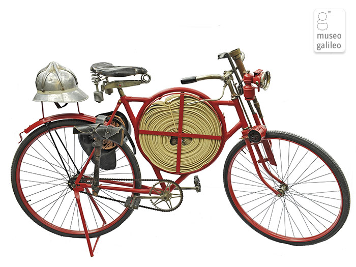 The fireman's bicycle