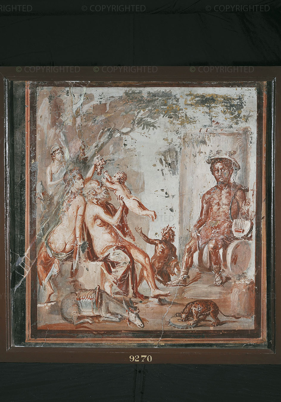 The infancy of Dionysus
